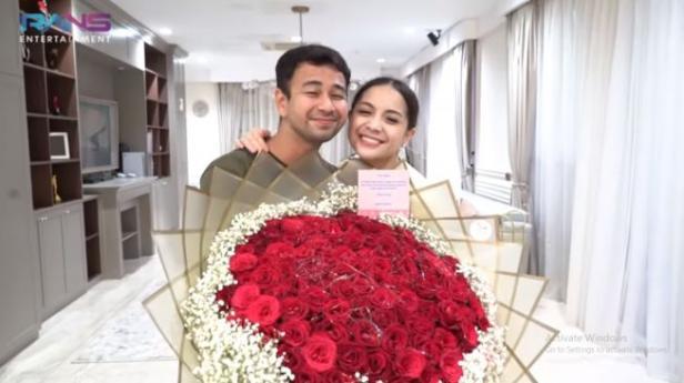 Raffi Ahmad dan Nagita Slavina.