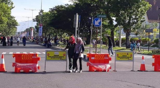 Car Free Day di Jalan Khatib Sulaiman