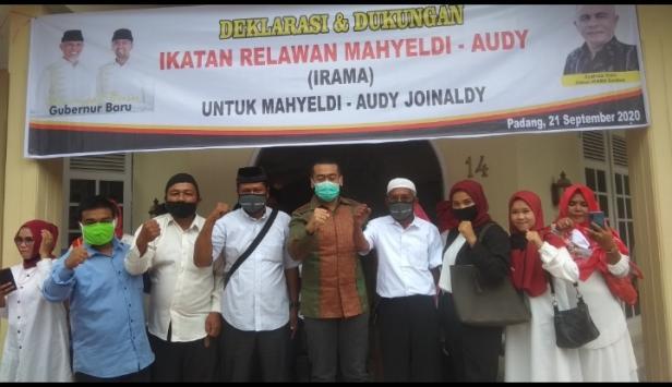 Deklarasi dan Dukungan Ikatan Relawan Mahyeldi-Audy