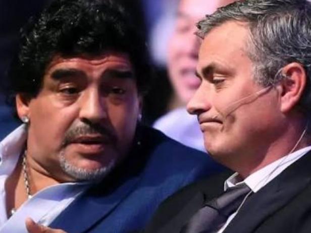 Maradona dan Mourinho