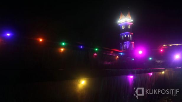 Jam Gadang, ikon wisata di Bukittinggi