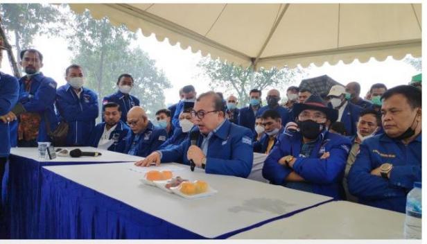 Partai Demokrat di bawah kepemimpinan Moeldoko kembali melemparkan tudingan kepada Demokrat kubu Agus Harimurti Yudhoyono (AHY).
