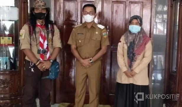 Faisal Yusri bersama Bupati Solok Selatan Khairunas dan Pengurus Pramuka Kwarcab 0319 Solsel, Upik Hayati