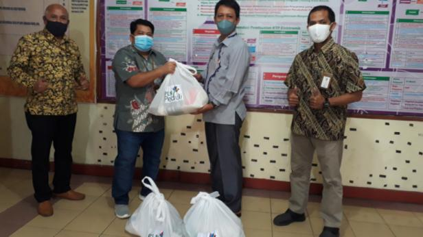 PLMN Peduli salurkan bantuan untuk masyarakat