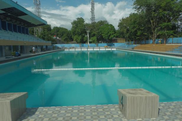 Kolam Berenang Teratai, salah satu aset Pemko Padang yang sudah tercatat