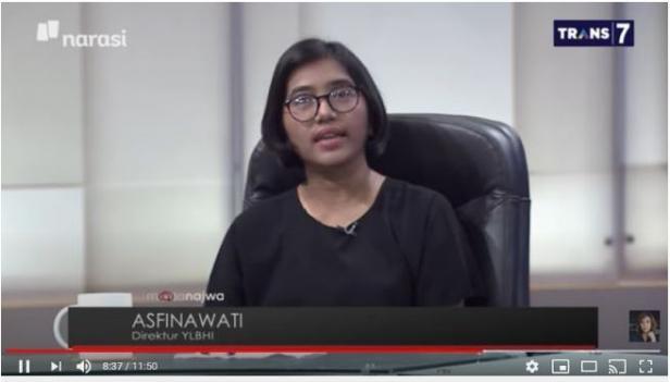 Asfinawati Senti Fadjroel Rachman Soal Judical Review ke MK