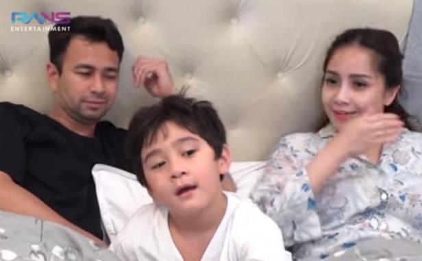 Raffi Ahmad, Rafathar dan Nagita Slavina