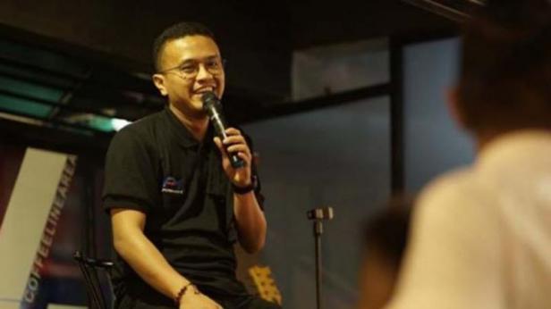 Politikus Partai Solidaritas Indonesia (PSI) Faldo Maldini
