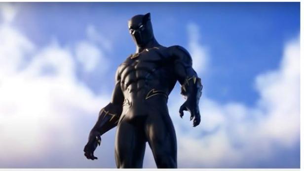 Fortnite Hadirkan Skin Black Panther dan Emote Wakanda Forever.