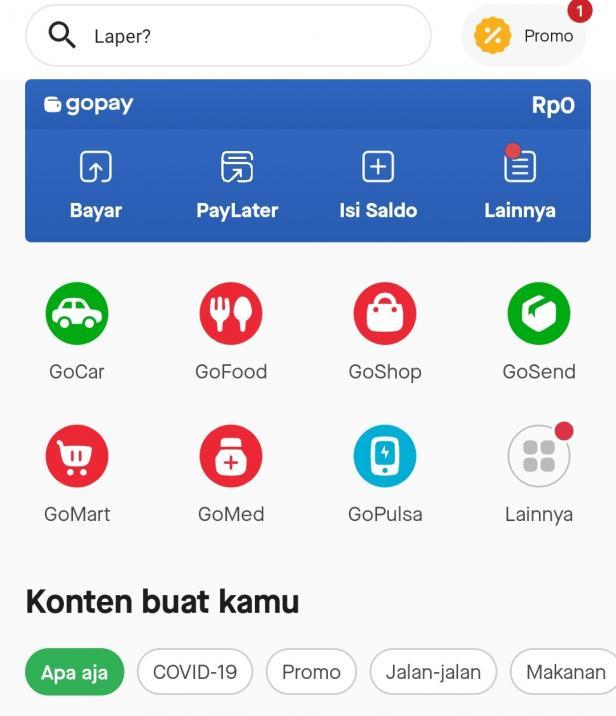 Gojek Dukung Penerapan Psbb Di Sumbar Layanan Goride Kini Tidak Bisa Digunakan Selama 2 Minggu Klikpositif Com Media Generasi Positif