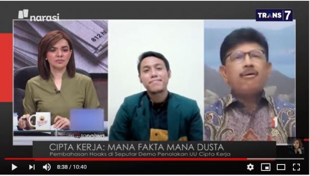 tangkapan layar youtube Mata Najwa