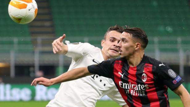 Gelandang Milan Ismael Bennacer