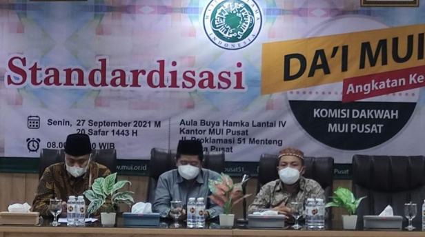 Komisi Dakwah Majelis Ulama Indonesia (MUI) menggelar Standardisasi Dai MUI dengan tema \