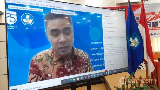 Dirjen Pendidikan Vokasi (Diksi) Kementerian Pendidikan dan KebudayaanWikan Sakarinto.