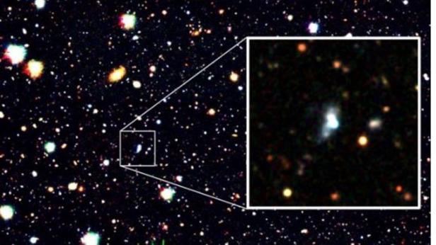 Galaksi dengan Tingkat Oksigen Terendah HSC J1631+4426