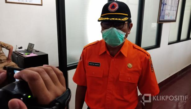 Ketua Harian Satuan Tugas Penanganan COVID-19 Kabupaten Agam, Drs. Martias Wanto