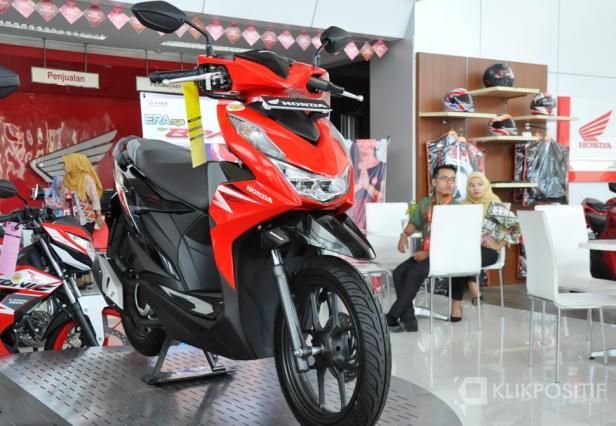 Penampakan motor All New Honda Beat