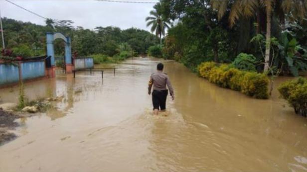 Penajam Paser Utara, Ibu Kota Negara Baru Kebanjiran.