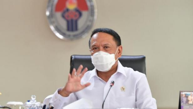 Menteri Pemuda dan Olahraga Republik Indonesia (Menpora RI) Zainudin Amali