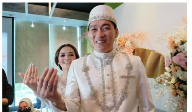Ifan Seventeen dan Citra Monica menikah
