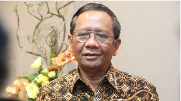 Menteri Koordinator Bidang Politik Hukum dan HAM (Menko Polhukam) Mahfud MD