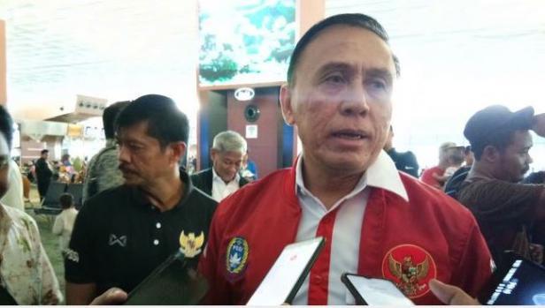 Ketua Umum (Ketum) PSSI, Mochamad Iriawan