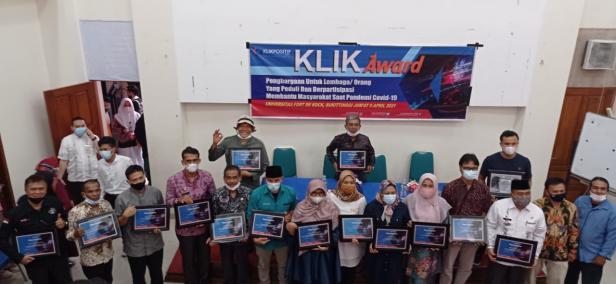 Penerima KLIK Award 2021