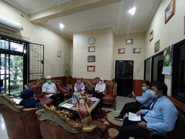 KPPN Lubuk Sikaping Dengan Pemda dalam Rangka Percepatan Penyaluran Dana Desa dan Dak Fisik 2021