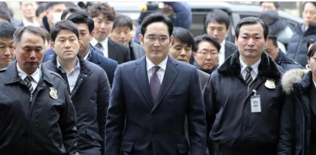 Pewaris Samsung Lee Jae-yong