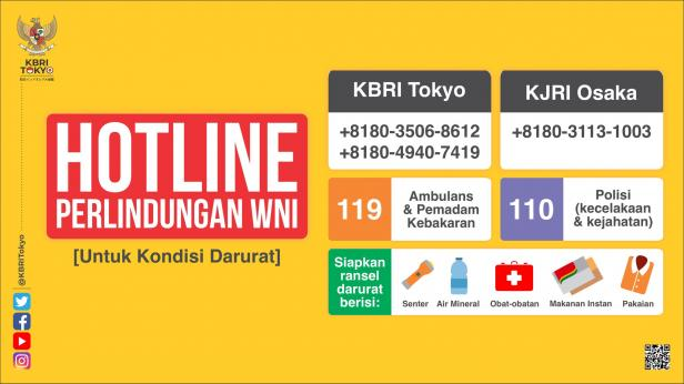 Hotline Perlindungan WNI