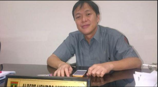 Anggota Dewan Perwakilan Rakyat Daerah (DPRD) Sumatera Barat, Albert Hendra Lukman