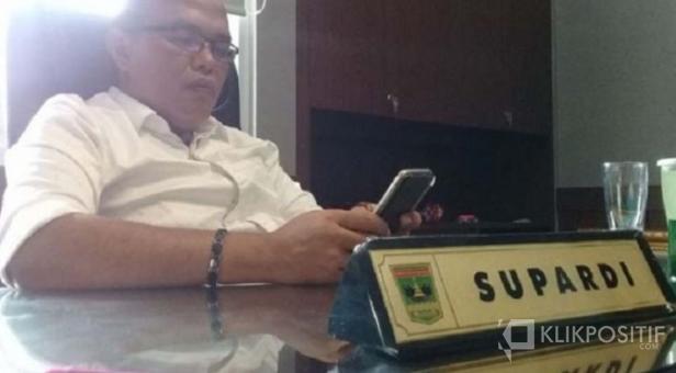 Ketua Dewan Perwakilan Rakyat Daerah (DPRD) Sumatera Barat Supardi