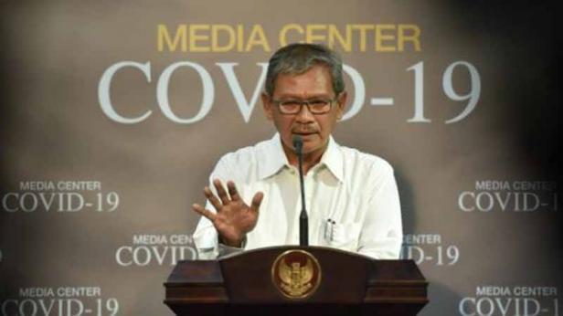 Juru Bicara Pemerintah Untuk Penanganan Covid-19 Achmad Yurianto