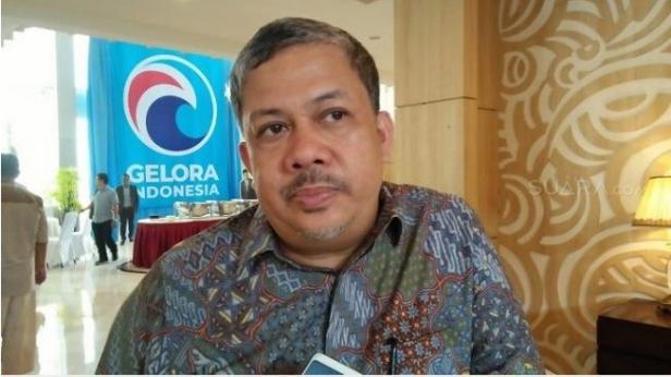 Politisi Partai Gelora Fahri Hamzah