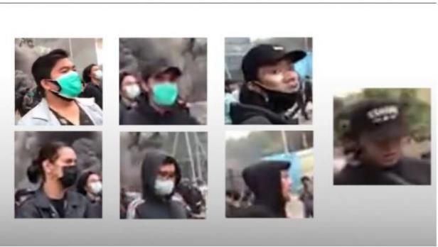 Narasi TV mengungkap para pelaku pembakar Halte Sarinah Jakarta saat demo tolak UU Cipta Kerja. Wajah-wajah terduga pelaku dipaparkan dalam sebuah video kronologis.