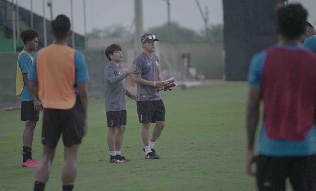Pelatih Timnas Shin Tae Yong