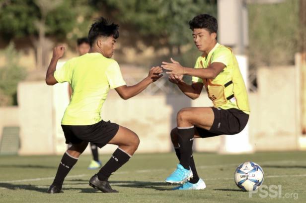 Timnas U-16 latihan di Dubai