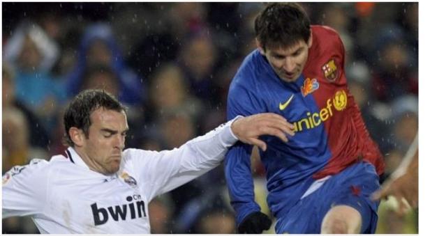 Christoph Metzelder saat berseragam Real Madrid.
