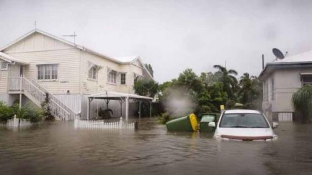 Banjir melanda Rosslea, Townsville, wilayah Quenssland, Australia