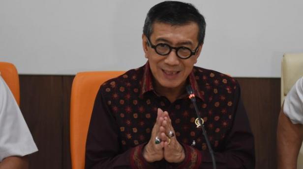 Menteri Hukum dan HAM Yasonna H. Laoly