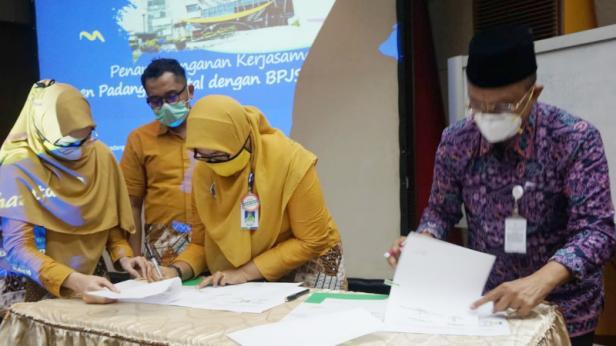Penandatanganan kerjasama antara SPH dan BPJS Kesehatan, Jumat, 10 Juli 2020