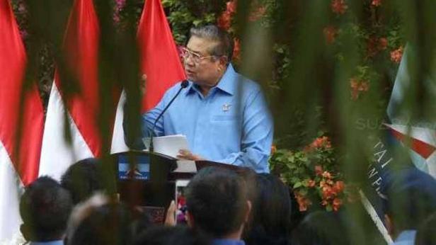 Mantan Presiden Susilo Bambang Yudhoyono (SBY)