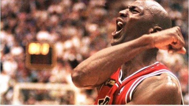 Legenda basket NBA Michael Jordan.