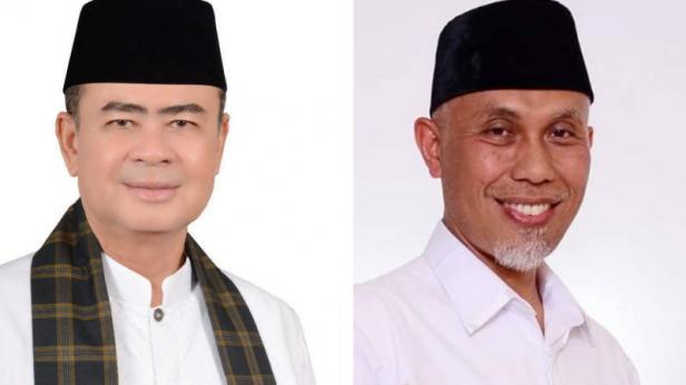 Nasrul Abit dan Mahyeldi Ansharullah