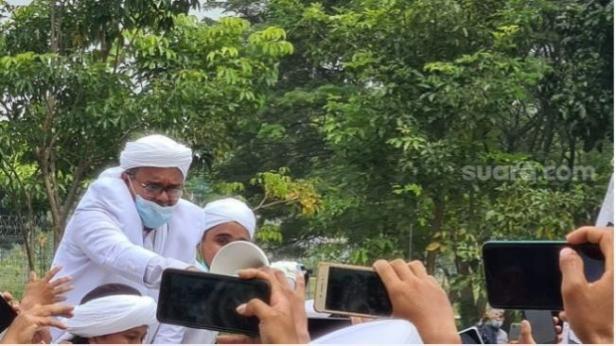 Eks pentolan FPI Habib Rizieq Shihab