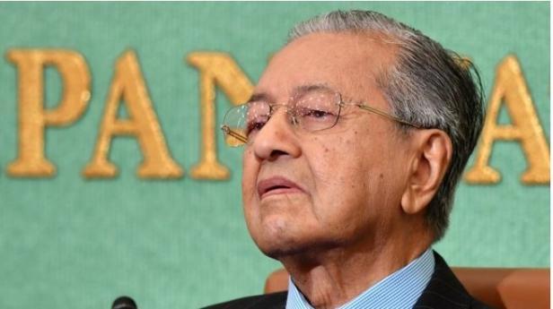 Perdana Menteri Malaysia, Mahathir Mohamad.
