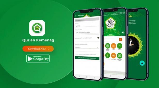Qur'an Kemenag versi 2.1.4, salah satu produk layanan digital ke-Al-Qur'anan milik Kementerian Agama