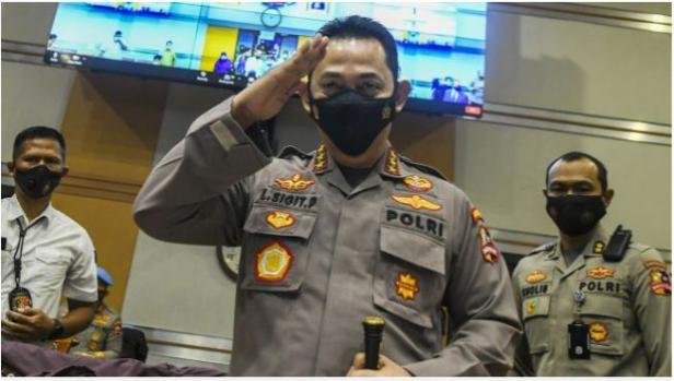 Jenderal Sigit Prabowo resmi dilantik menjadi Kepala Kepolisian Republik Indonesia (Kapolri)