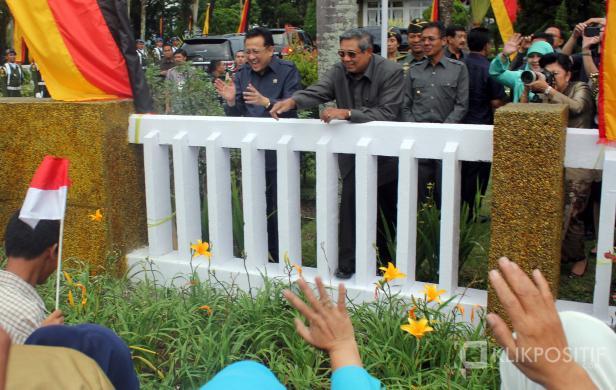 SBY saat berada di Bukittinggi pada Oktober 2013 yang lalu