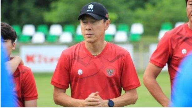 Pelatih Timnas U-19 Shin Tae-yong.